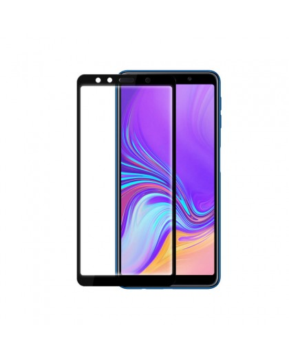 Edge to Edge Tempered Glass Screenprotector Voor Samsung Galaxy A7 (2018)
