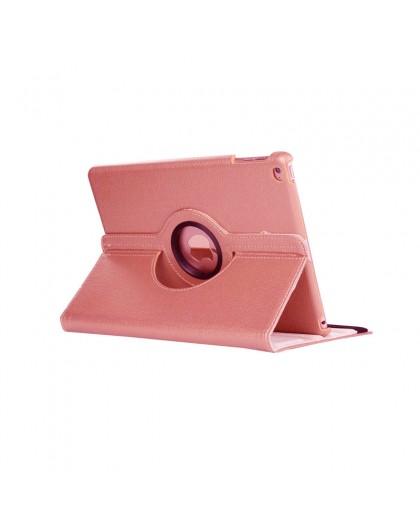 Rose Goud 360 Draaibare Tablethoes Voor de iPad 2018 / 2017