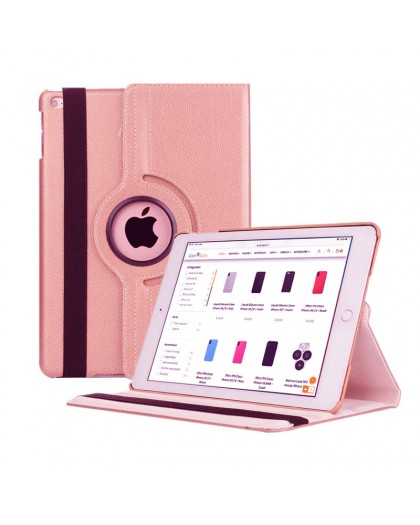 Rose Goud 360 Draaibare Tablethoes Voor de iPad Air 2 / Air
