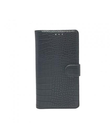 Croco Print Wallet Case Hoesje voor Huawei P30