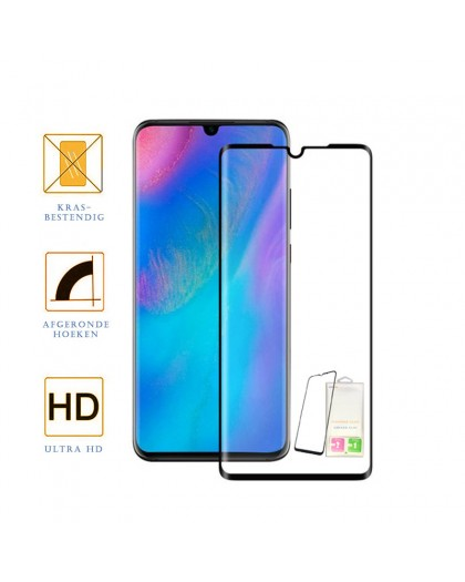 Edge to Edge Tempered Glass Screenprotector Huawei P30