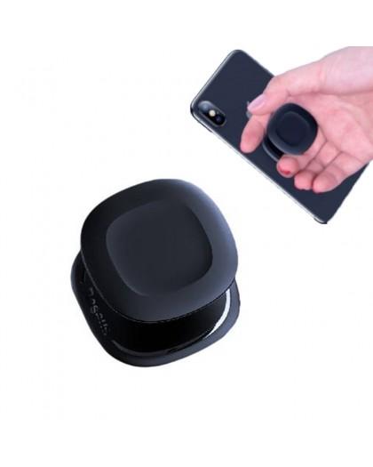 Baseus Telefon Air Grip Sockel + Halter Schwarz