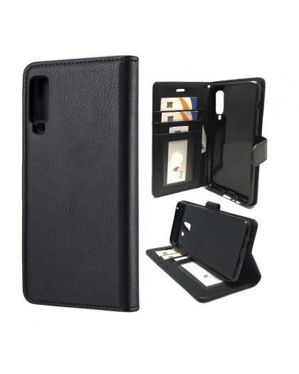 Classic Black Bookcase Samsung Galaxy A7 (2018)