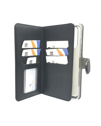 Black TPU Wallet Case Huawei P30 Pro