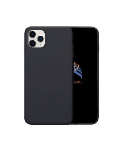 Solid Black Color TPU Case iPhone 11 Pro