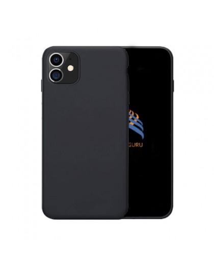 Einfarbige TPU hülle in Schwarz iPhone 11