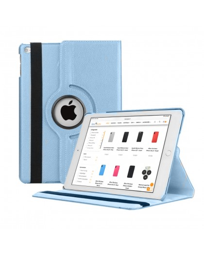 Light blue 360 Rotating Tablet Case For the iPad 10.2