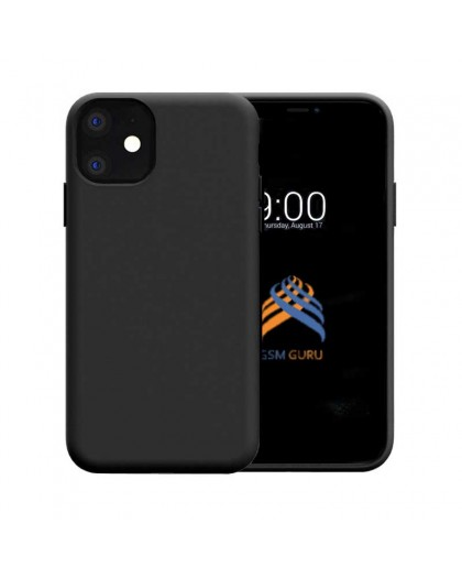 Liquid Silicone Case iPhone 11 - Black