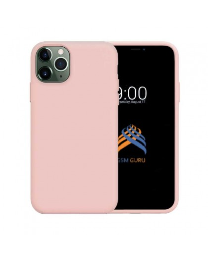 Liquid Silicone Case iPhone 11 Pro Max - Pink