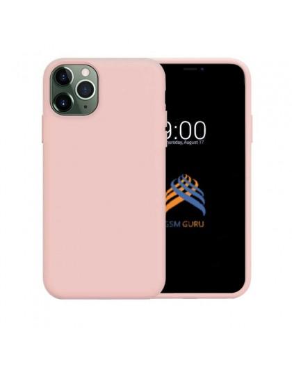 Liquid Siliconen Hoesje iPhone 11 Pro Max - Roze