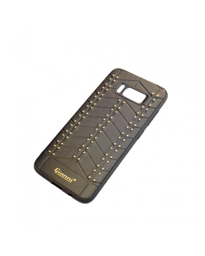 Gianni Galaxy S8 Studded TPU Leather Case Black