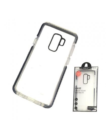 Gianni Galaxy S9 Plus Zwart Bumper Case Extreem Schokbestendig