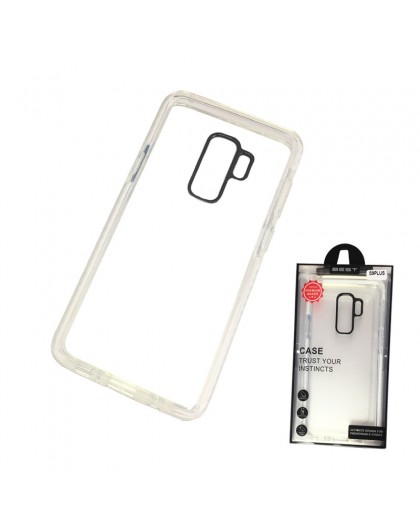 Gianni Galaxy S9 Plus White Bumper Case Extremely Shockproof