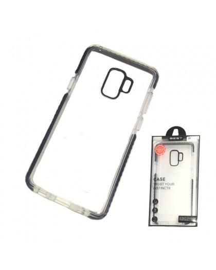 Gianni Galaxy S9 Zwart Bumper Case Extreem Schokbestendig