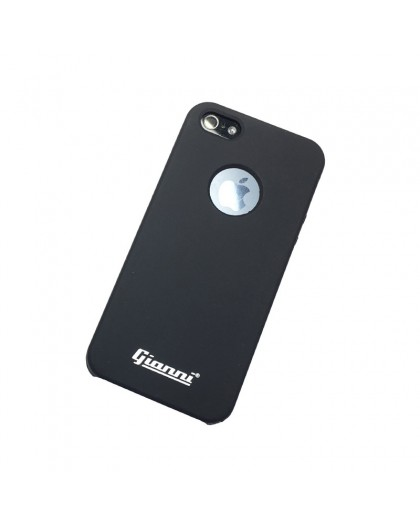 Gianni iPhone 5 / 5S / SE Mat Zwart Slim TPU Hoesje