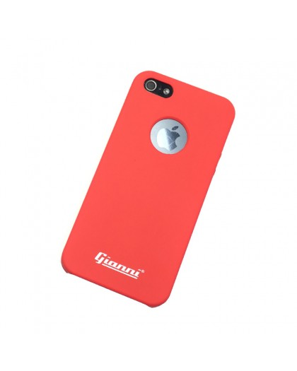 Gianni iPhone 5 / 5S / SE Mat Rood TPU Hoesje