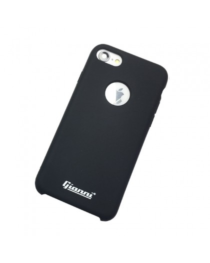 Gianni iPhone 7/8 Mat Zwart Slim TPU Hoesje