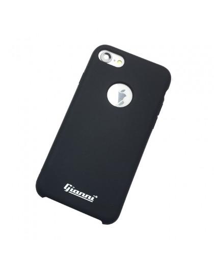 Gianni iPhone 7/8 Matt Schwarz Slim TPU Hülle