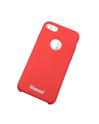 Gianni iPhone 8 / 7 Mat Rood Slim TPU Hoesje