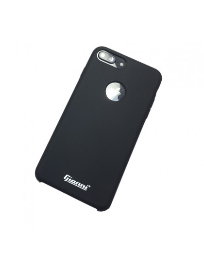 Gianni iPhone 8 Plus / 7 Plus Mat Zwart Slim TPU Hoesje