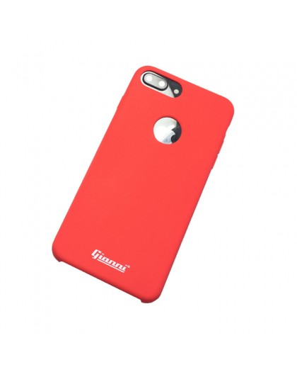Gianni iPhone 8 Plus / 7 Plus Mat Rood Slim TPU Hoesje