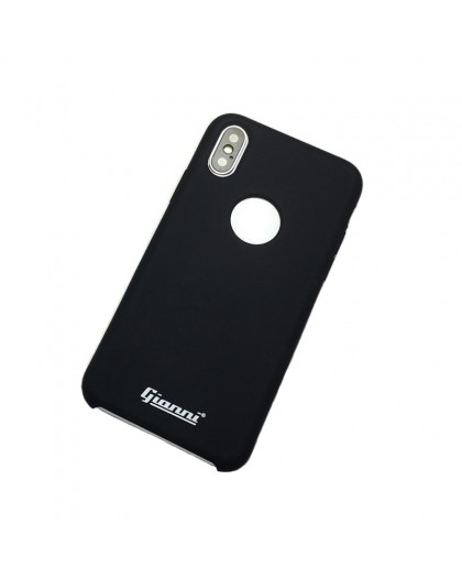 Gianni iPhone XS / X Matte Black Slim TPU Case