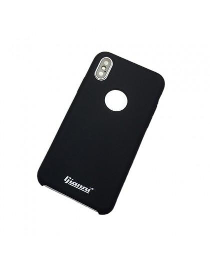 Gianni iPhone XS / X Matte Black Slim TPU Case