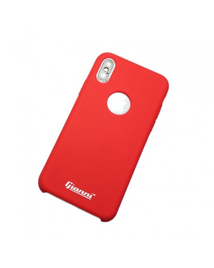 Gianni iPhone XS / X Matte Red Slim TPU Case