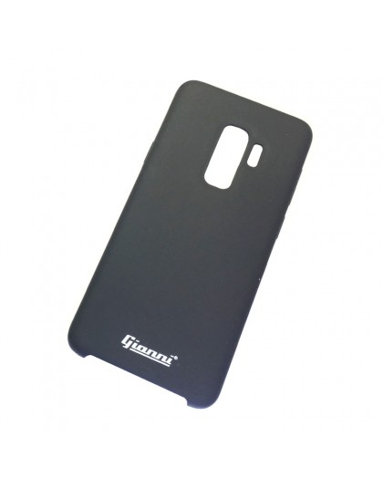 Gianni Galaxy S9 Plus Mat Zwart Slim TPU Hoesje
