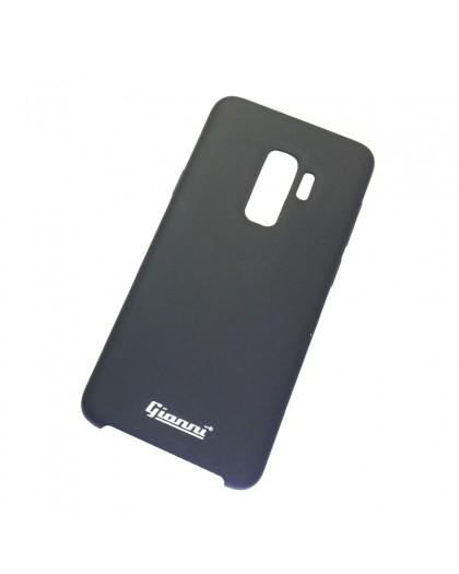 Gianni Galaxy S9 Plus Matt Schwarz Slim TPU Hülle