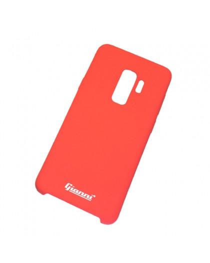 Gianni Galaxy S9 Plus Matt Rot Slim TPU Hülle