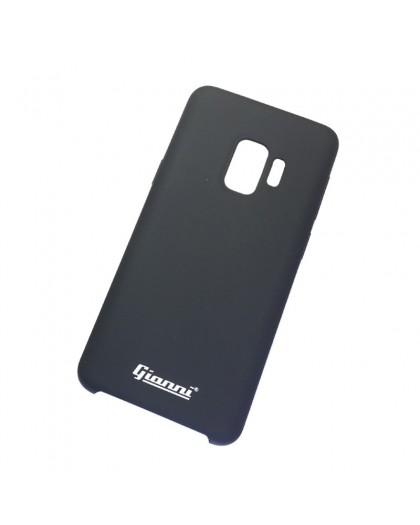 Gianni Galaxy S9 Mat Zwart Slim TPU Hoesje