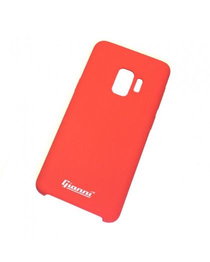 Gianni Galaxy S9 Mat Rood Slim TPU Hoesje