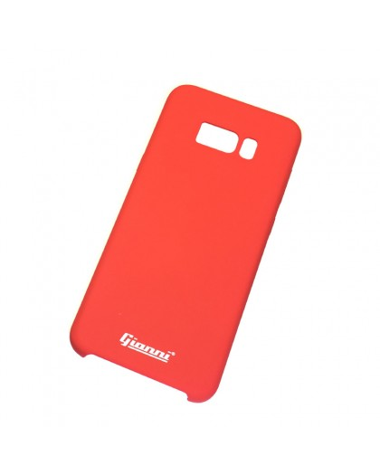 Gianni Galaxy S8 Matte Red Slim TPU Case