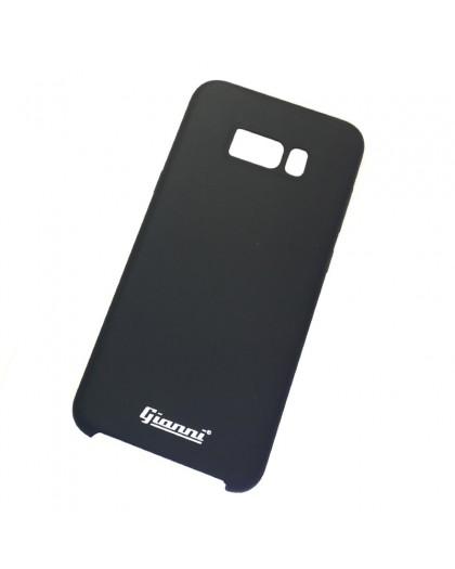 Gianni Galaxy S8 Plus Matt Schwarz Slim TPU Hülle