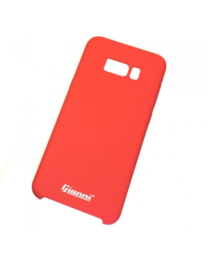 Gianni Galaxy S8 Plus Mat Rood Slim TPU Hoesje
