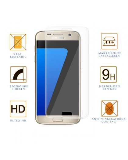 Gehärtetes Glas Edge To Edge Displayschutz Samsung Galaxy S7
