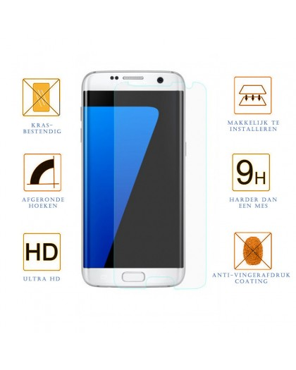5D Gehärtetes Glas Displayschutz Samsung Galaxy S7 Edge