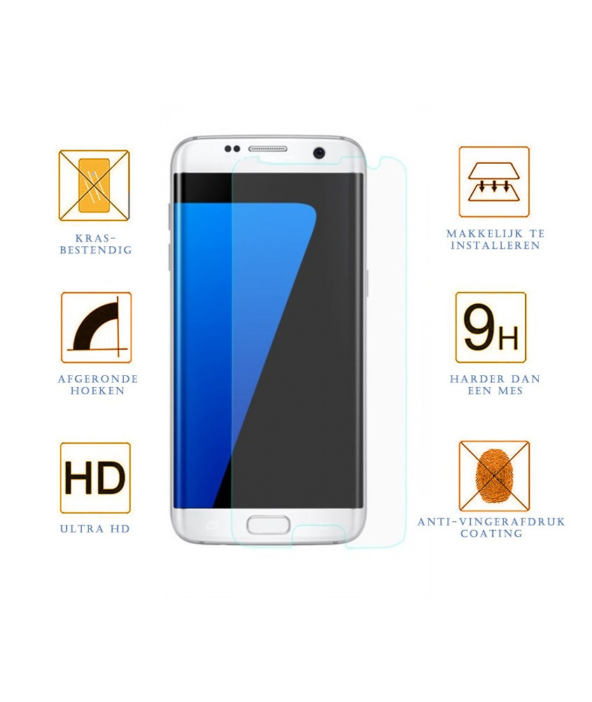 Samsung Galaxy S7 Edge Screen Protector 5D Tempered Glass