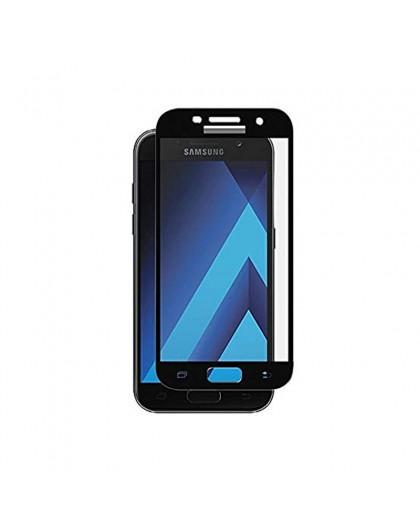 Gehärtetes Glas Full Cover Schwarz Displayschutz Samsung Galaxy A3 2017