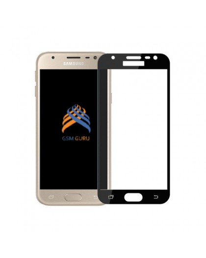 Tempered Glass Full Cover Black Screen Protector Samsung Galaxy J3 2017